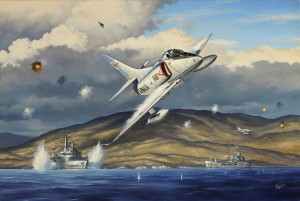 "Jerry Anderson  ""Thunder Over San Carlos""  24"" x 36"" Oil"